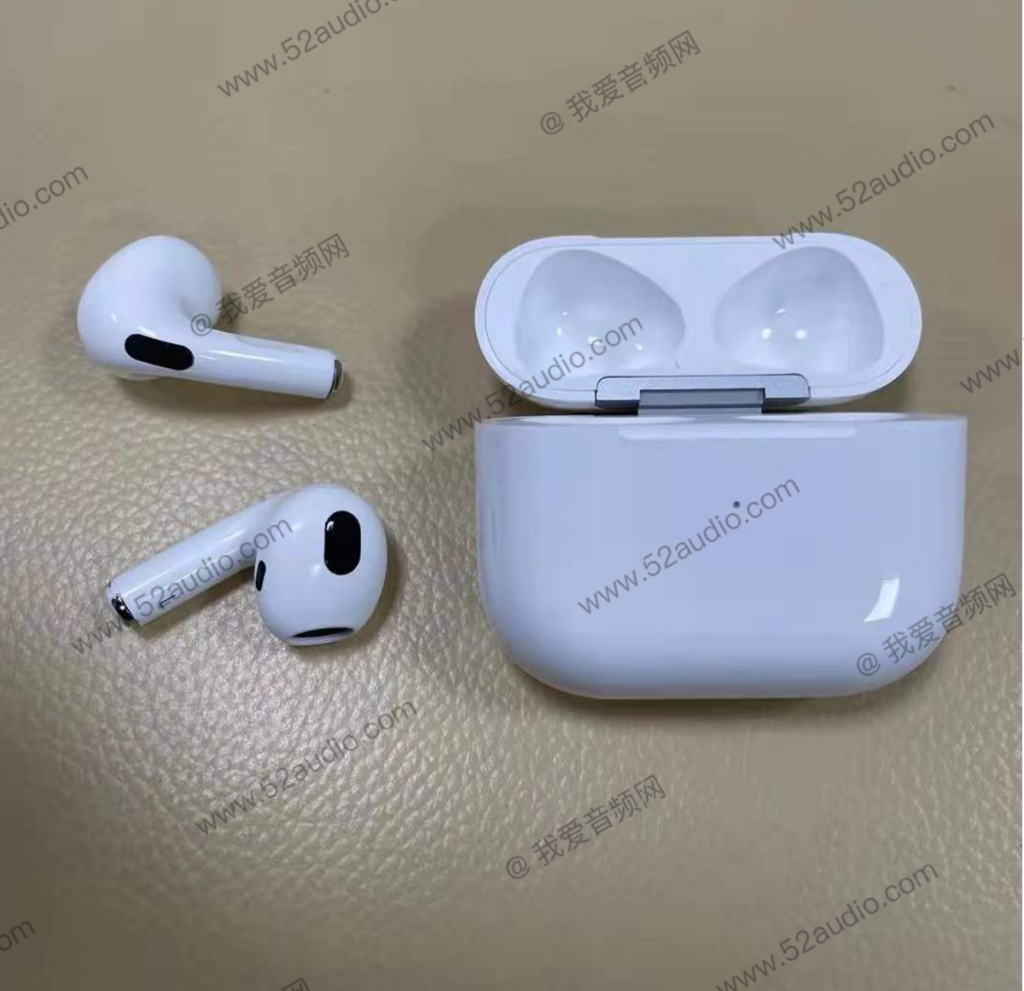 AirPods3 デザインリーク